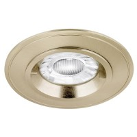AURORA EDLM™ PRO GU10 IP44 FIXED LOCK RING DOWNLIGHT SATIN NICKEL