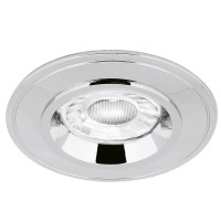 AURORA EDLM™ PRO GU10 IP44 FIXED LOCK RING DOWNLIGHT CHROME