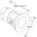 AURORA mPRO™ downlight 7W 3000K 600lm 60° IP65 dimmable