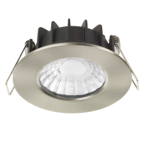 AURORA RT Pro™ LED Downlight 7W 3000K 680lm 60° IP65 Satin Nickel Dim