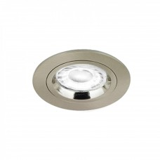 AURORA EDLM™ PRO GU10 FIXED LOCK RING DOWNLIGHT SATIN NICKEL