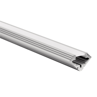 LED profile Corner 45 19x19mm with opal click cover 2m