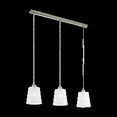 pendant lamp HAMBLETON 3xØ18.5cm 3xE27 base white