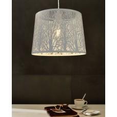 pendant lamp HAMBLETON Ø35cm 1xE27 base white