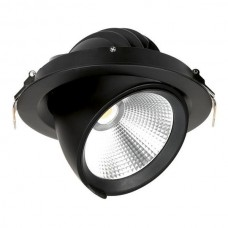 Enlite Apex™ Retail 30W LED downlight 4000K 3000lm 24° black
