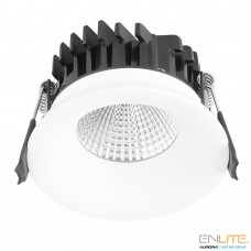 AURORA CurveE™ 8x5cm LED Downlight 7W 3000K 640lm 60° IP44 dim