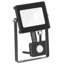 NEW Enlite QuaZar™PIR 10W Adjustable IP65 LED Floodlight 4000K 900lm must