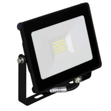 ENLITE QuaZar™ Slim LED Flood Light 20W 3000K 1800lm 120° black
