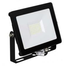 Enlite QuaZar™ 30W Slim Adjustable IP65 LED Floodlight 4000K 2700lm 120° Black