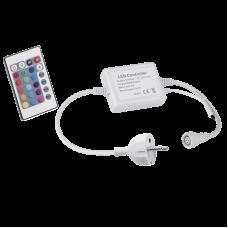 FLEX240 220V RGB LEDriba toitejuhe ja kaugjuhtimispult