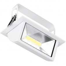 Enlite Prysim™ LED Wallwasher 45W 4000K 4100lm 105° White