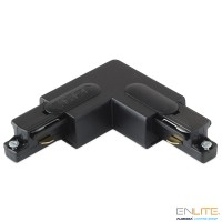 ENLITE TRAC™ GLOBAL Corner Connector L, black