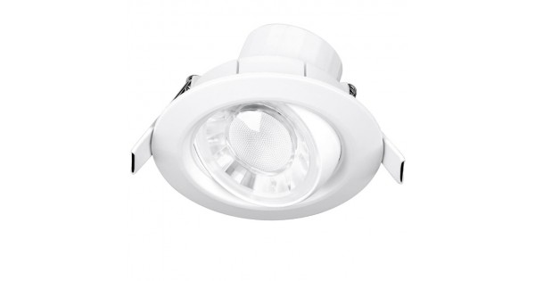 cheap for discount 6546c b8f6c Enlite Spryte™ 8W Dimmable Adjustable LED Downlight 4000K 680lm 60° white  IP44- Spryte™ LED downlight range is the ideal energy effici
