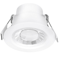 Enlite Spryte™ 8W Dimmable LED Downlight 3000K 550lm 60° white IP44