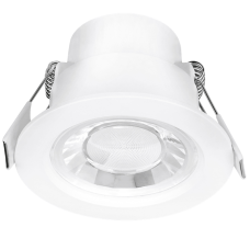 Enlite Spryte™ 8W Dimmable LED Downlight 3000K 620lm 60° white IP44