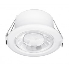 Enlite Spryte™ 10W Dimmable LED Downlight 3000K 1000lm 60° white IP44