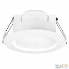 Enlite Uni-Fit™ LED valgusti 12cm 10W 4000K 100° 820lm IP44 dimmerdatav