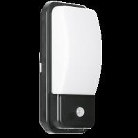 Wall Light Bulkhead UTILITEX™ 10W PIR IP65 LED Security 10W 4000K 880lm IP65 Black