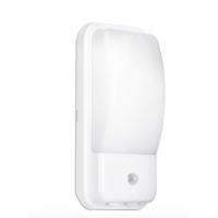 Wall Light Bulkhead UTILITEX™ 10W PIR IP65 LED Security 10W 4000K 880lm IP65 White
