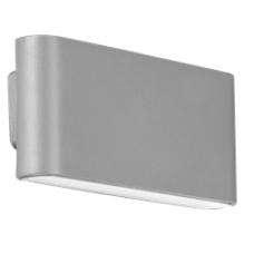 WALLEpro IP65 fixed  wall light 4000K 6W 310lm grey