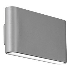 WALLEpro IP65 fixed up&down wall light 4000K 12W grey