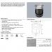 """ENLITE G-Lite IP67 inground LED light """"walk-on"""" GU10 socket"""