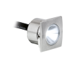 Recessed weatherproof LED lights
