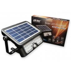 SOLAR LED prožektor 5W 4000K 500lm juhtmevaba must