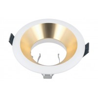 LED LINE® OLTIKA GU10 FIXED LOCK RING DOWNLIGHT GOLD/WHITE