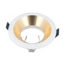 LED LINE® OLTIKA GU10 FIXED LOCK RING DOWNLIGHT GOLD/WHITE