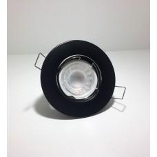 LED LINE® DOWNLIGHT ROUND ADJUSTABLE DIE CAST ALUMINIUM BLACK
