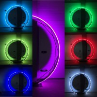 LED-riba 24V Pro 10x23mm Dome 10W/m RGB IP67 5m