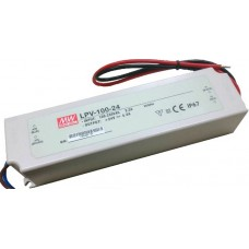 LPV-100-24 Mean Well Power Supply for 24V LED Strips 100W