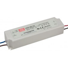 LPV-35-12 Mean Well Power Supply for 12V LED Strips 36W