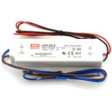 LPV-35-5 Mean Well Power Supply 5V 30W