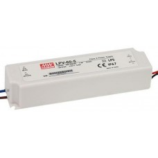 LPV-60-5 Mean Well Power Supply 5V 40W