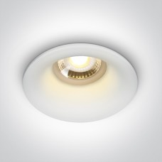 ONE BEAUTY deep GU10 downlight Ø8.5cm white