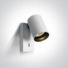 Lugemislamp seinale CLOONEY 5W LED 3000K 500lm 60° Valge