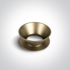 Reflector ring golden- Antique Brass