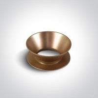 Reflector ring - pinkish brass