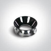 Reflector ring - dark chrome