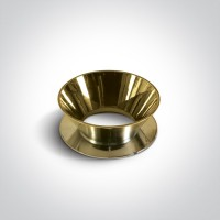 Reflector ring - shining gold