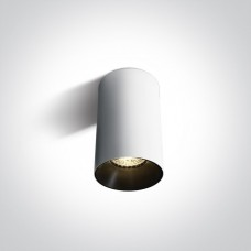 Ceiling lamp GU10 bulb base CHILL OUT CYLINDER 7.5x13.5cm white