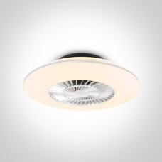 Ceiling lamp 60cm with ventilator and remote