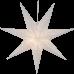 Rippuv valgusdekoratsioon GALAXY 60cm E14 pesaga valge