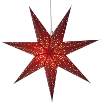 Hanging decoration GALAXY 60cm E14 red
