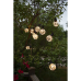 Lightchain with bulbs LOVELY 4.5m 10LED 3.6W with cableloops