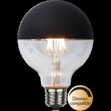LED pirn E27 2.8W 260lm 2600K musta kupliga dimmerdatav