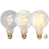 LED bulb E27 4W 68/135/270lm 2100K DECOLED SPIRAL 3-STEP DIM