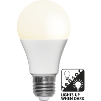 LED bulb E27 7W 470lm 2700K Auto ON/OFF Twilight Sensor